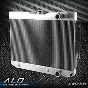New Racing Aluminum Radiator For CHEVY IMPALA 1959-1963 / 1960-1965 BELAIR PRO