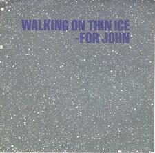 YOKO ONO JOHN LENNON  Walking On Thin Ice  45 with PicSleeve  THE BEATLES