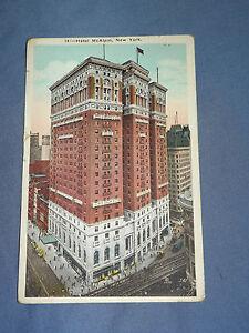 VINTAGE-1924-HOTEL-McALPIN-NEW-YORK-POSTCARD