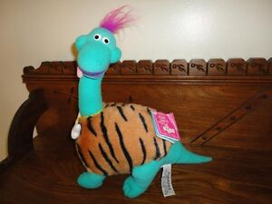 Russ Caress Soft Pet RUBBLES DINOSAUR Handmade RARE