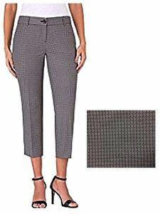 80d6755fea0f Hilary Radley Women s Stretch Dress Crop Capri Dress Pants Black ...