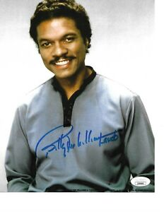 Billy-Dee-Williams-Signed-In-Person-Autographed-Photo-STAR-WARS-JAS-COA-Rare