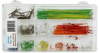 ( 2-PACK ) Elenco JW-350 350 Piece Pre-formed Jumper Wire Kit.....SPECIAL!!!!!