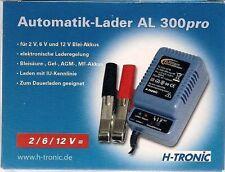 AL300pro Batterieladegerät / Charger GEL Säure MF AGM 2 6 12 Volt Überwinterung