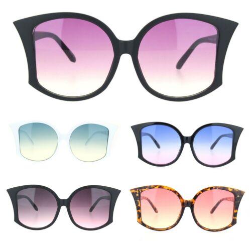 Womens Retro Vintage Style Bat Shape Designer Fashion Sunglasses