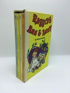 Raggedy-Ann-amp-Andy-box-set-4-book-lot-JOHNNY-GRUELLE