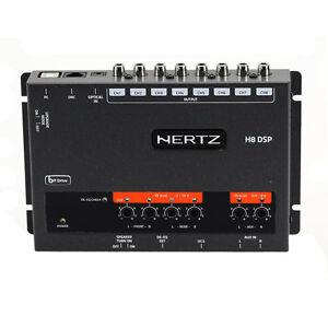 Hertz H8 Dsp Hi Res Car Audio Analog Digital Sound Processor 7