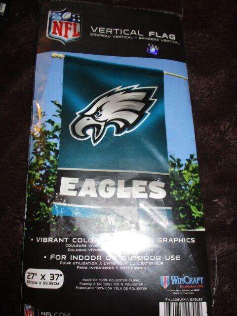 uk availability 8554a da41c Official NFL Football Flag Philadelphia Eagles 27