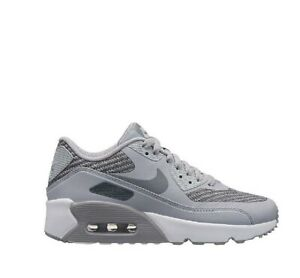 Details about Nike Air Max 90 Mesh (GS) Running Shoes Grey Shoes UK 4.5 6 show original title