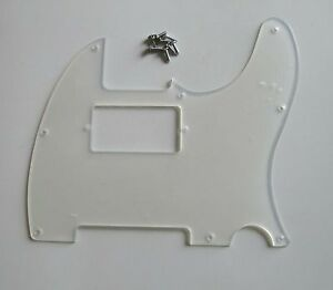 Clear-Tele-Humbucker-Scratch-Plate-Transparent-Guitar-Pickguard-for-Telecaster