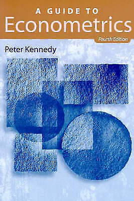 Econometrics by Kennedy, Peter-ExLibrary
