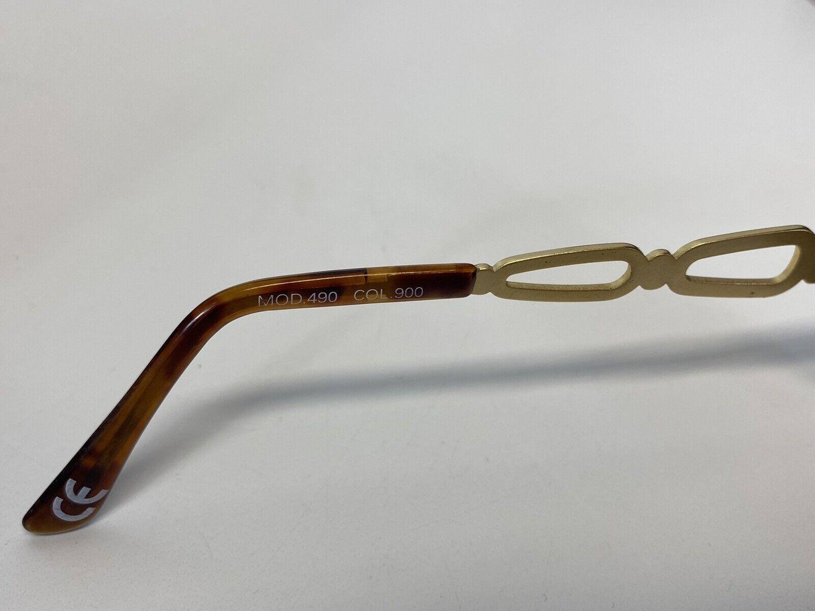 Rare Vtg Gianni Versace Brown Gold Medusa Sunglas… - image 5