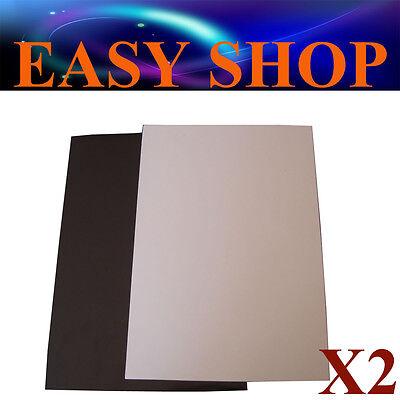 2X A4 Whiteboard White Board Magnet Sheets DIY Hand Craft Fridge Office School
