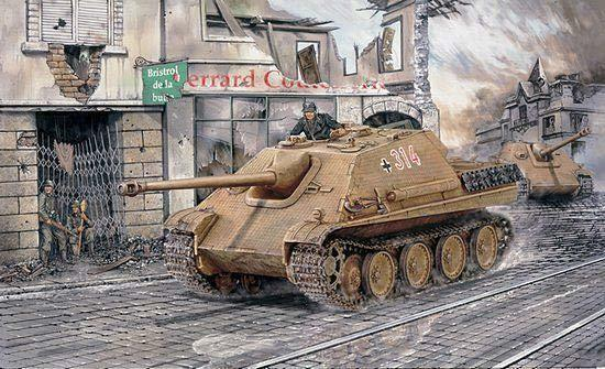 Dragon 1 3 5 6245  Hunt Panther sd.kfz.173, Early Version