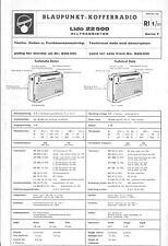Blaupunkt Service Manual für Lido 22500