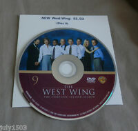 West Wing Season 2 Disc 2 Replacement Dvd (disc 9), Free Shipping