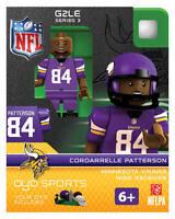 Cordarrelle Patterson Nfl Minnesota Vikings Oyo Mini Figure G2 Rare