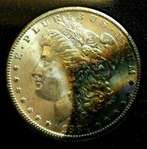 m.rm GSA 1883-CC Morgan Silver Dollar Uncirculated Carson City Mint OGP