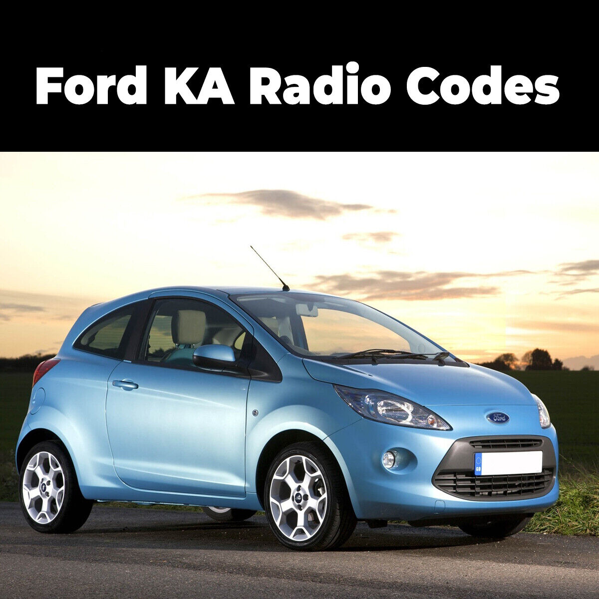 Details about Ford KA Radio Code Stereo Unlock Reset Codes Pin Car | Fast  Service