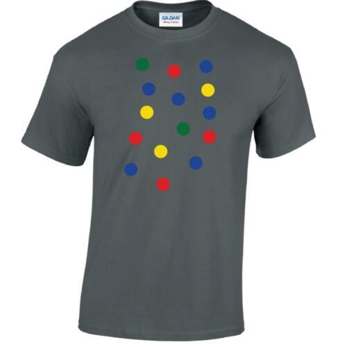 Dotty Cadeau Pois Jour Spot T-shirt homme jeunesse Top Tee Inspiré Drôle T Shirt
