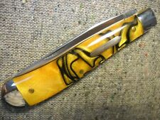 Great Eastern CutleryTidioute #48 Weasel Knife beautiful Tiger Eye Acrylic