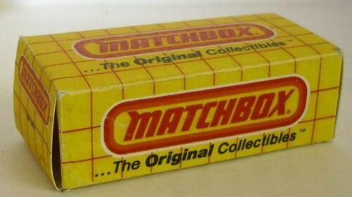 Repro box Matchbox Superfast neutral box grande