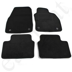 For Vauxhall Astra MK5 2004-2009 Fully Tailored 4 Piece Car Mat Set 4 Clips