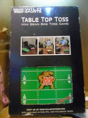 Magnificent Wild Sports Tabletop Toss Mini Bean Bag Toss Game Maryland University Ebay Ocoug Best Dining Table And Chair Ideas Images Ocougorg