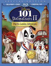 Disney's 101 Dalmatians II: Patch's London Adventure 2015 Special Edition Bluray