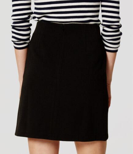 Large NWT Cobalt Shadow Color Ann Taylor LOFT Ottoman Wrap Skirt Size Medium