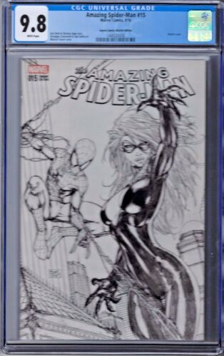 Amazing Spider-man Vol # 4 Issue # 15 CGC 9.8 Marvel Aspen Sketch Edition