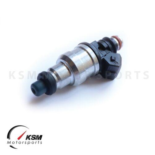 Set of 4 KSM 1000CC Fuel Injectors EVO 4 5 6 7 8 9 RX-7 FC3S 13B 20B 4AGE 4G63T