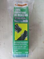 Frost King Lawn Chair Webbing Green Pw39g 2.25 Wide Fade Resistant