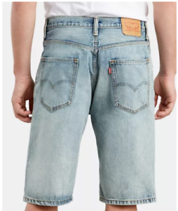 Men's Levi's 569 Loose Straight Turquoise Blue Denim Jean Shorts New w// Tags