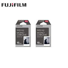 20 sheet Monochrome Fujifilm Instax Mini 8 film camera fr Mini 7s 8 25 50s 90