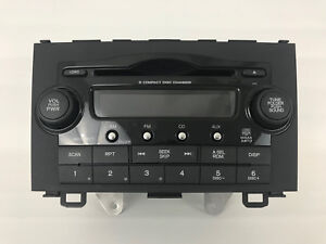 Image Is Loading HONDA CR V XM RADIO 6 CD DISC