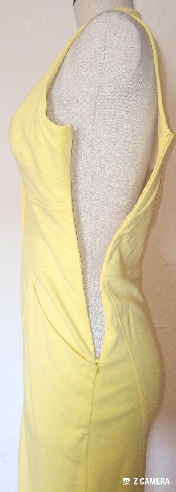 Catherine Malandrino Bright Yellow Dress Size S  - image 4