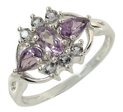 925 Sterling Silver Alexandrite Stone Ring Women Indian Jewelry-IJVL-SJR2603
