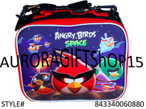 Angry Birds Space school Insulated Lunch Bag-0880
