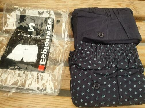 +SALE+ TWIN PACK COTTON BOXER SHORTS FOR BIG MEN  6XL ONLY