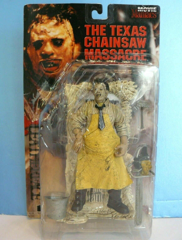 Movie Maniacs LEATHERFACE The Texas Chainsaw Massacre FIGURE (1998) McFarlane