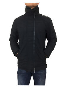 SALE-Superdry-Mens-Quilted-Athletic-Windcheater-Jacket-Eclipse-Navy-Black