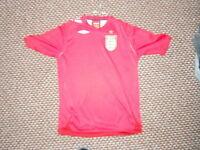 England Extra Large Boys Away Football Shirt