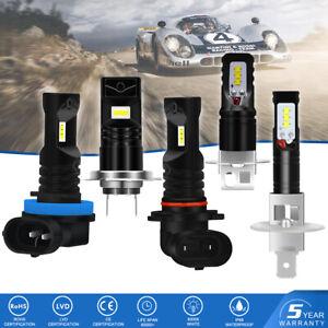 KaTur-H1-H11-H3-H7-9006-80W-CSP-LED-Nebel-Scheinwerfer-Birnen-Kit-Lampen-DRL-2X