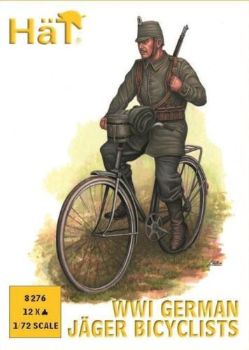 Hat - WWI German Jager bicyclists - 1:72 - 8276