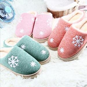 f150320f614 Image is loading Women-Winter-Warm-Slippers-Cotton-Sheep-Lovers-Home-