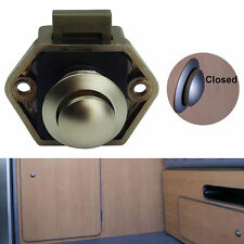 MMini Push Button Catch lock RV Caravan cupboard pop up knob camper lock handle