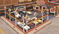 Ho Scale: a-to-z Used Car Lot - Kit 197 By Blair Line