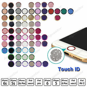 Image Is Loading Touch ID Home Button Sticker Fingerprint Support For