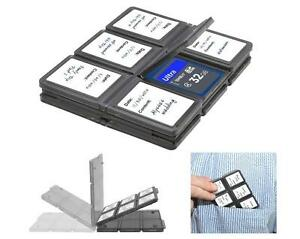 Xit-Foldable-Memory-Card-Protector-Case-12-Slots-Holds-SD-SDHC-Micro-SD-Card